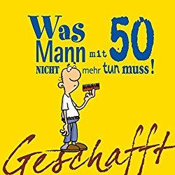 Geschenk Buch für einen 50-jährigen Mann