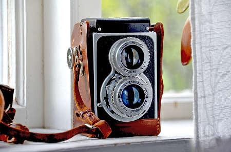 Retro-Kamera für coole Hipster