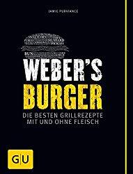 Weber Burger Kochbuch mit tollen Grillrezepten