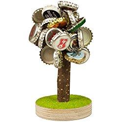 Magnetischer Bierbaum zum Sammeln von Kronkorken