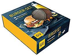 Burger-Kochbuch mit Burgerpresse für Männer