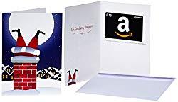 Amazon Gutschein als Last-Minute Geschenk zu Weihnachten