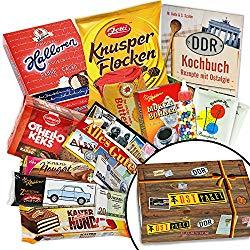 DDR Süßigkeiten Geschenkbox