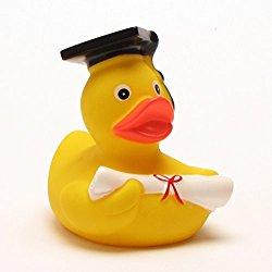 Badeente als Geschenk für Akademiker