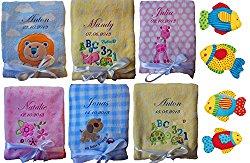 Personalisierte Babydecke als Geschenk zur Geburt für werdende Eltern