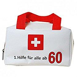 Erste Hilfe zum 60. Geburtstag. Lustiges Geschenkset