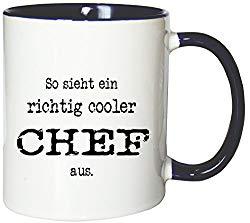 Kaffeetasse für einen coolen Chef