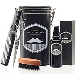 Hochwertiges Bartpflege-Set als Geschenk für Bartträger und Männer