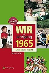 Jahrgang 1965 Buch als Geschenkidee zum Geburtstag