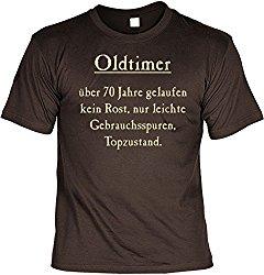 Geschenk T-Shirt Oldtimer zum 70. Geburtstag für Männer
