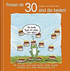 Lustiges Buch für Frauen zum 30.