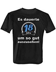 T-Shirt 18 Jahre Geburtstag