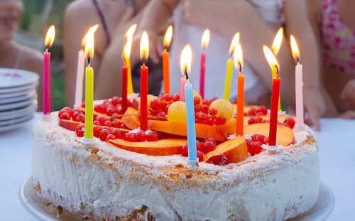Kuchen für Kindergeburtstag