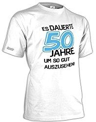 Geschenk T-Shirt zum 50. Geburtstag für Männer