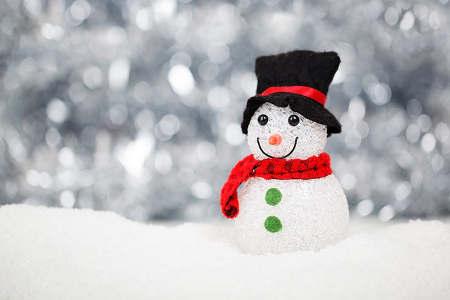Schneemann Dekoration für Weihnachten