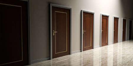 Live Escape Game - die richtige Tür wählen
