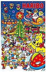 Haribo Adventskalender als Geschenk