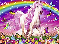 Pferde-Puzzle Weihnachtsgeschenk für Mädchen