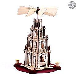 Wunderschöne Weihnachtspyramide selber bauen mit diesem Bausatz