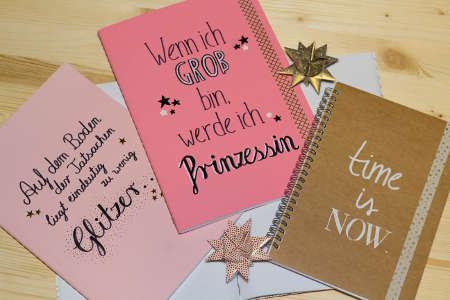 Design Notizbücher als schönes Weihnachtsgeschenk