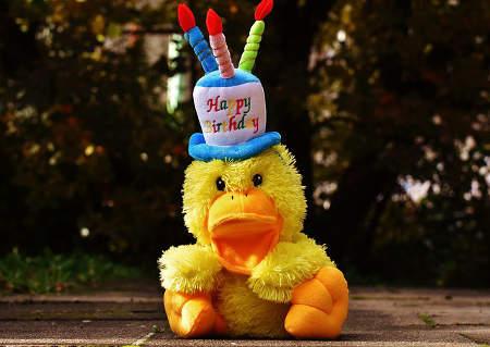 Alles Gute zum 40. Geburtstag - Happy Birthday