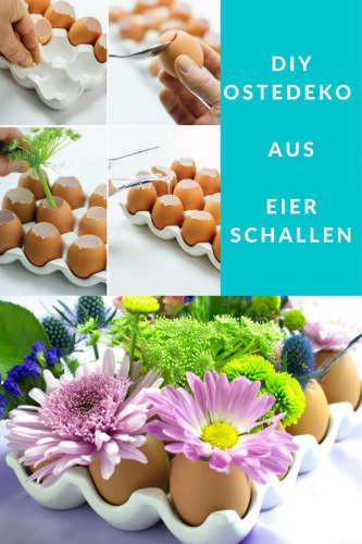 DIY Osterdeko aus Eierschalen