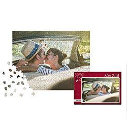 Romantisches Fotopuzzle für Paare