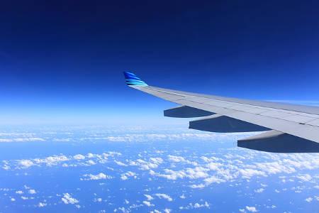 Mit dem Flugzeug in das nächste Abenteuer, Geschenk für Reisende