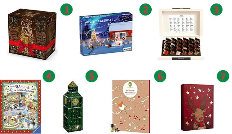 7 tolle ideen f r den perfekten adventskalender schenk dich gl cklich der geschenke blog. Black Bedroom Furniture Sets. Home Design Ideas