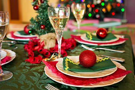 Ein leckeres Weihnachtsessen kochen