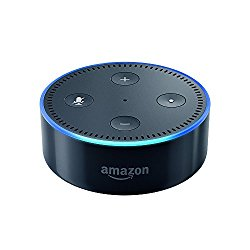 Alexa Echo Dot in schwarz