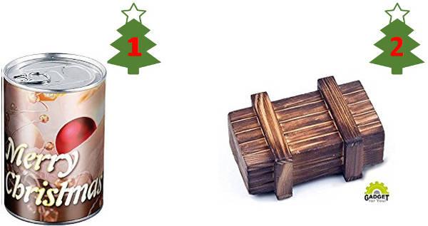 Geldgeschenke zu Weihnachten kreativ verpacken
