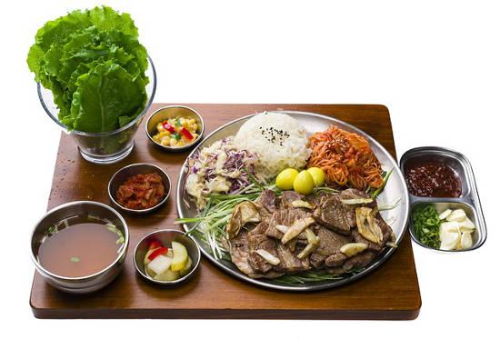 Koreanisches Essen ist gesund und lecker