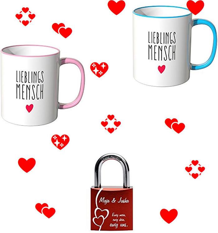 Romantische Valentinsgeschenke für Sie und Ihn zum Tag der Liebe