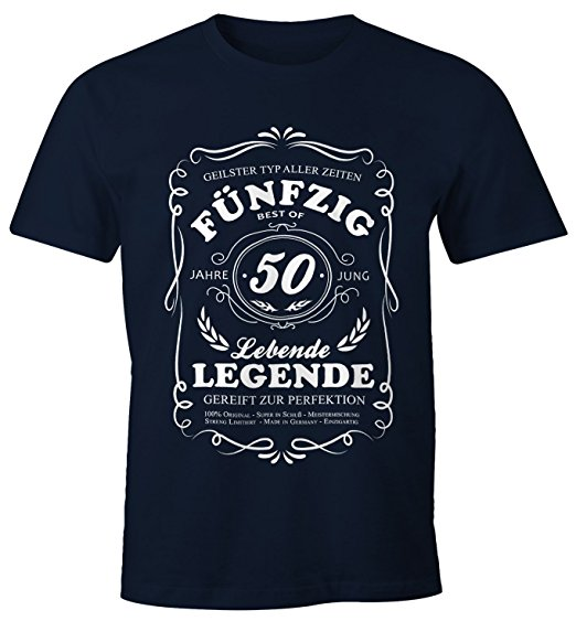 witziges T-Shirt zum runden Geburtstag für Männer