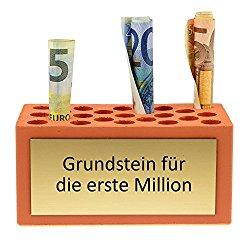 Geldgeschenk Grundstein für die erste Million zum Geburtstag