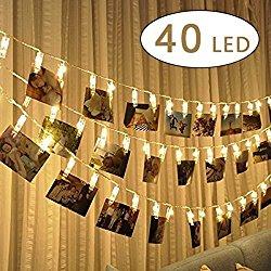 Lichterkette mit Fotos als persönliches Geschenk