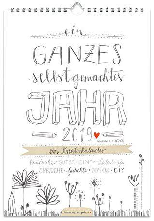 Bastelkalender Fotokalender als Geschenkidee zu Weihnachten
