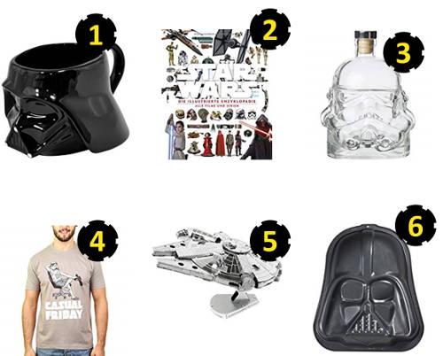 6 geniale Geschenke für Star Wars Fans