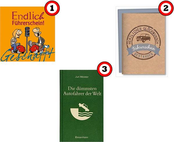 Bestanden geschenk führerschein Top 9