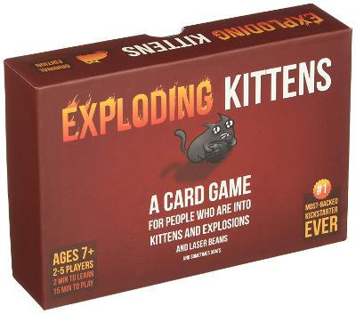 Exploding Kittens witziges Kartenspiel