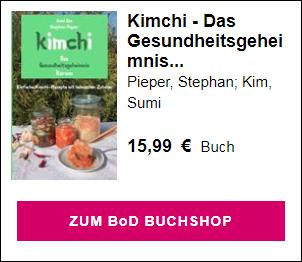 Kimchi Buch Geschenk