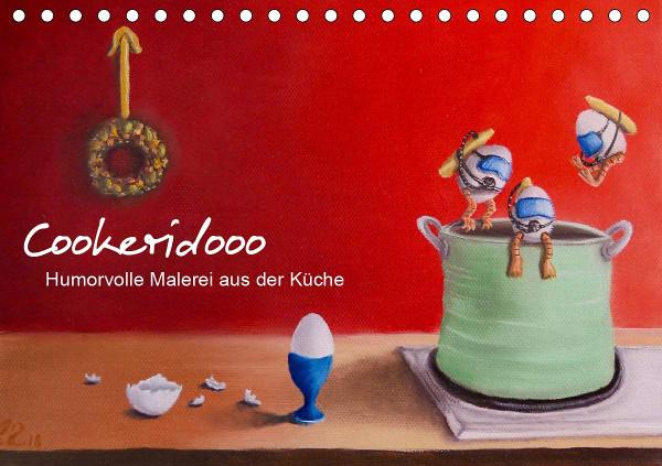 Kunst in der Küche Kalender