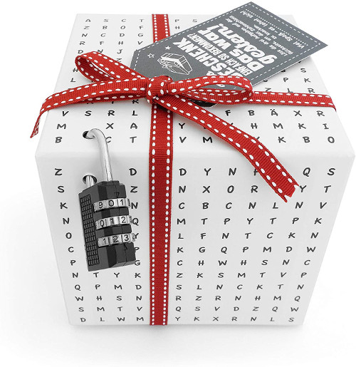 Worträtselbox als Geldgeschenk