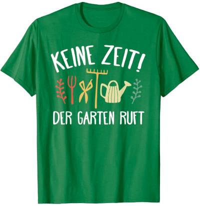 Geschenk T-Shirt für Gärtner